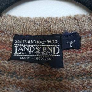 Lands' End Jackets & Coats - Vintage // Land's End 100% wool -Made in Scotland